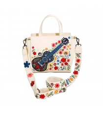 Sac A Main Disney - Coco Guitare Broderie Exclu