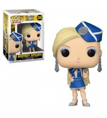 Figurine Rocks Britney Spears - Britney Stewardess Pop 10cm
