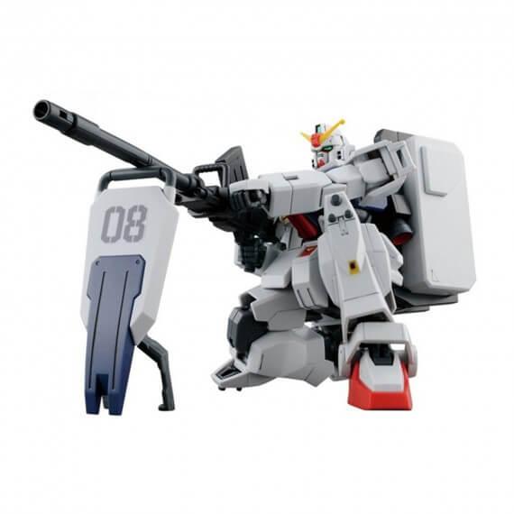 Maquette Gundam - 210 Gundam Ground Type Gunpla HG 1/144 13cm