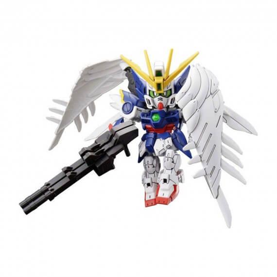 Maquette Gundam - 13 Wing Zero Ew Gunpla SD Cross Silhouette 8cm