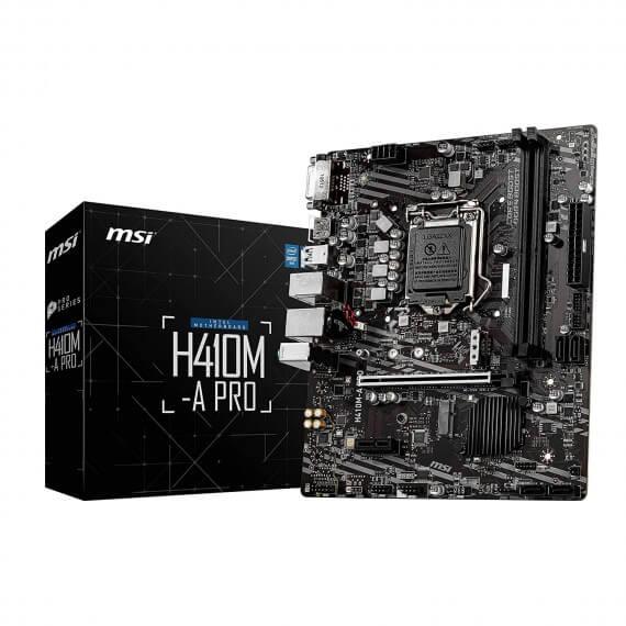 Carte Mère MSI H410M-A Pro