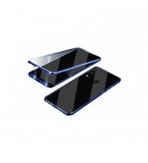 Coque Magnetique Samsung A20 Bleu