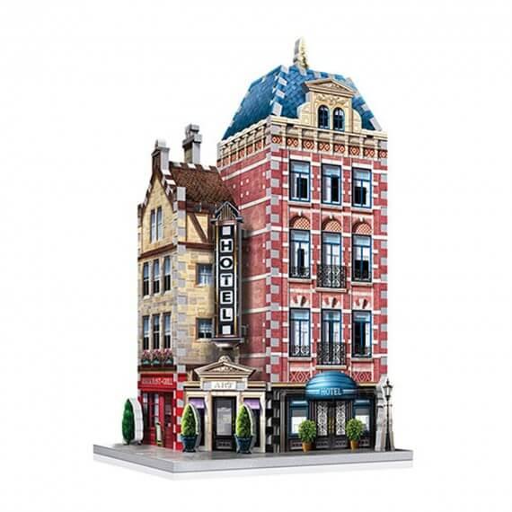 Puzzle 3D Monument - Hôtel Urbania 290 Pièces