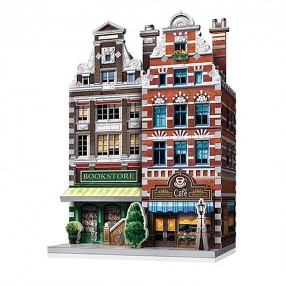 Puzzle 3D Monument - Café Urbania 285 Pièces