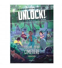 Livre Unlock! Les Escape Geeks - Échappe-toi du cimetière