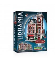 Puzzle 3D Monument - Caserne de Pompiers Urbania 285 Pièces
