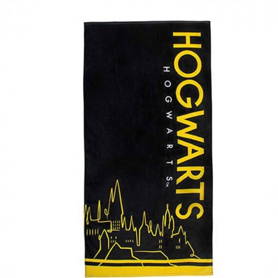 Serviette de plage Harry Potter - Poudlard