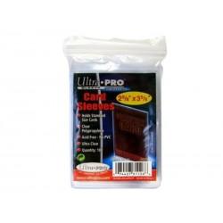 Ultra Pro - Lot de 100 Protèges cartes souples ( Soft Card Sleeves)
